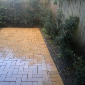 Paving Cleaning After