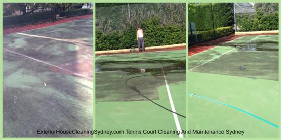 Tennis Court Cleaning And Maintenance Sydney